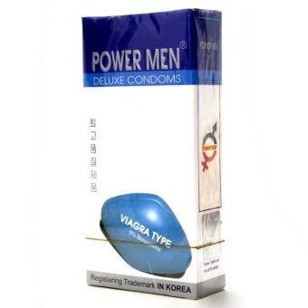 Bao cao su chống xuất tinh sớm Power Men Viagra Type