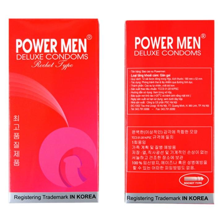 Bao Cao Su Powermen Rocket Hương Socola