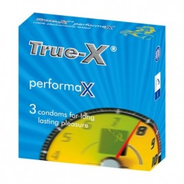 Bao cao su kéo dài thời gian quan hệ Bao cao su True-X Performax.