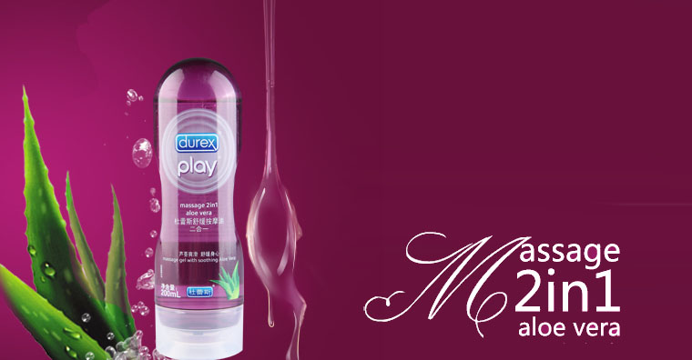 Gel Bôi Trơn Durex Play Massage 2 in 1 thailand b